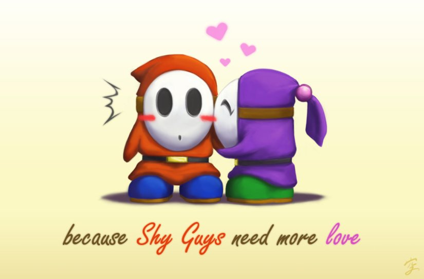 A Shy Guy Love Story